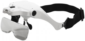 HEAD MOUNTED MAGNIFIER GLASSES